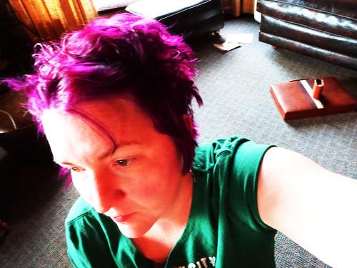 Purple. Pimpin'.
