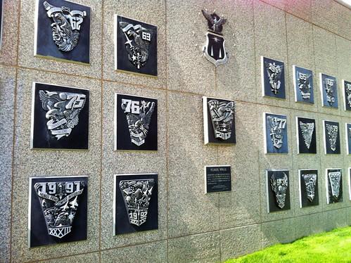 USAFA Class Wall