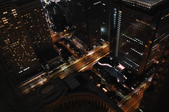 A view from Tokyo Metropolitan Government Building Observation with DP1 Merrill #2