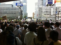 Street Speech of Election of The Presidents of Democratic Party of Japan