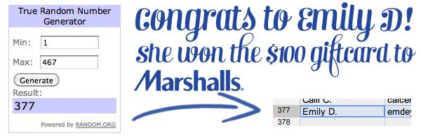 winner marshalls