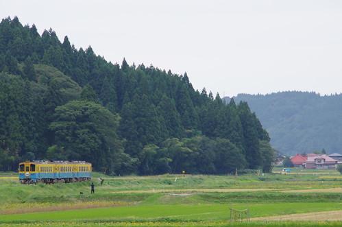 由利高原鉄道 YR1500形3両サヨナラ運転 #15
