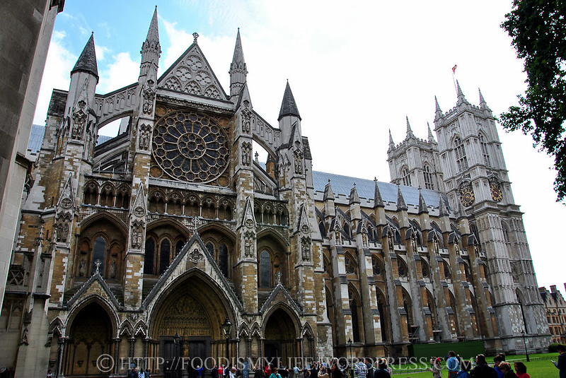 North Face of Westminster Abbey, London, England
