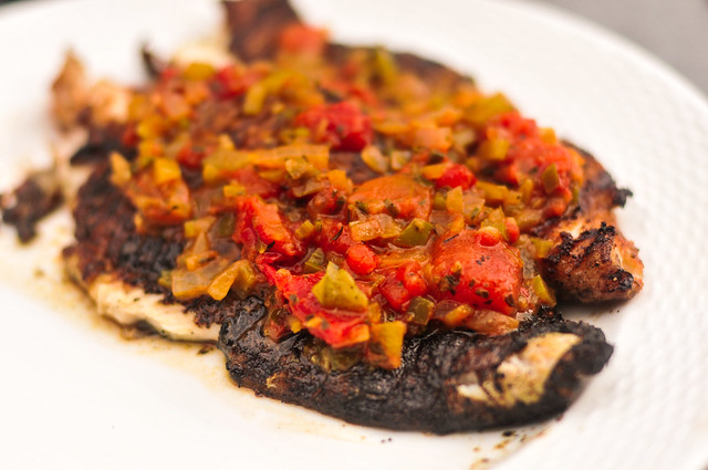 Blackened Catfish with Creole Sauce