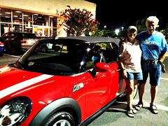 Mr and Mrs  Ferarri wanted a MINI that reminded them of the luxury car similar to their last names