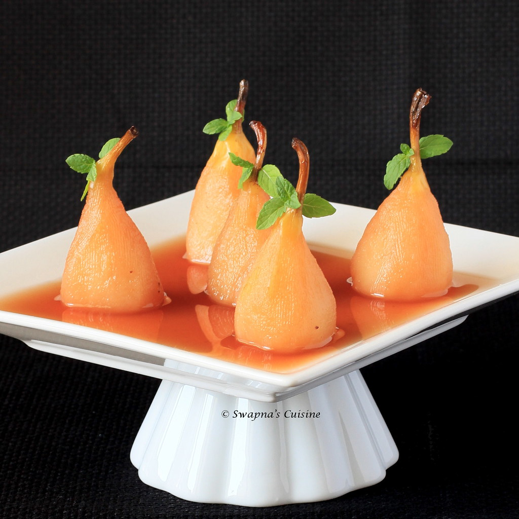 Pears Poached Recipe