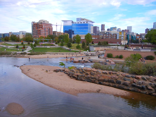 Confluence Park. Denver, Colorado