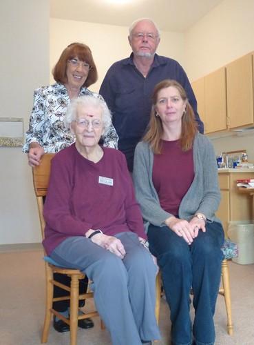With Grandma, Ginny, Dad by suzipaw