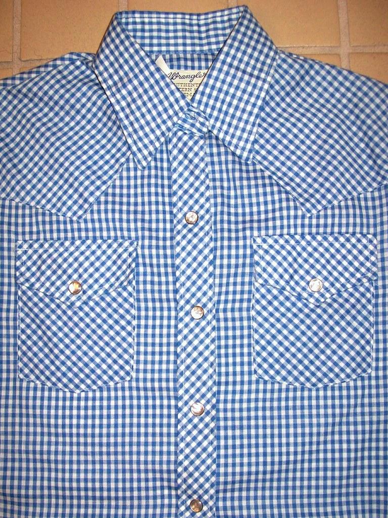 vintage Wrangler blouse