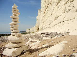 Chalk Stack at Birling Gap 2