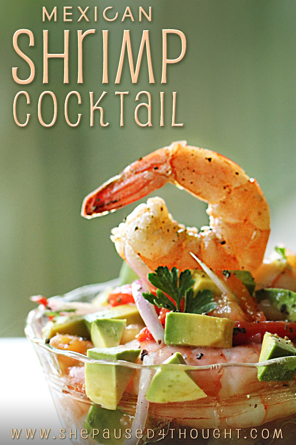 Mexican Shrimp Cocktail from New School of Cooking