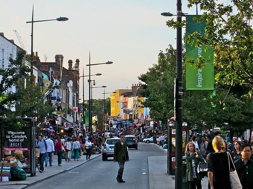 The main drag, Camden Town