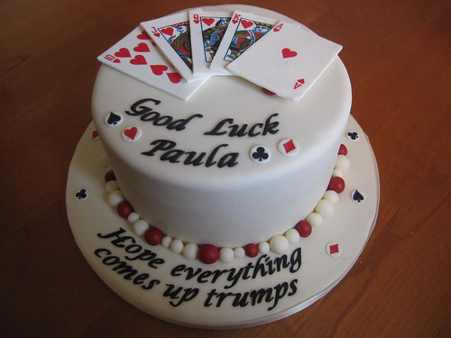 Playing Card Good Luck Cake The Cake I Didn T Want To
