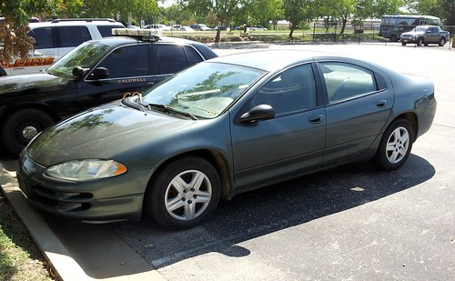 Dodge Intrepid Unmarked Police Unit