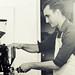 Kyle Glanville at G&B Pop Up Coffee Bar
