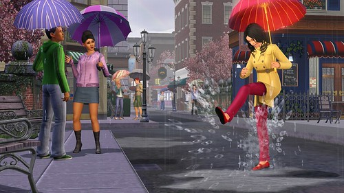 Sims 3 Seasons October Screenshot