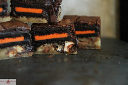 Halloween Slutty Brownies