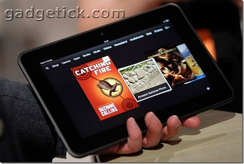 Amazon Kindle Fire HD получил Google Play Store