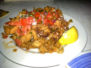 Cabo Calamari, Sharky's on the Pier, Venice, Fl, Restaurant Review