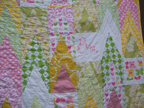 Baby Eva's Quilt close up