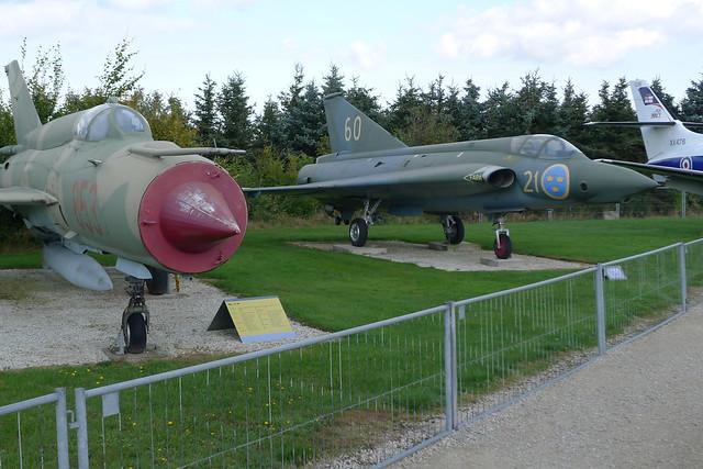 MiG-21 MF und Saab J-35 Draken