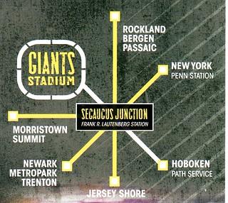 NJ Transit Meadowlands Map