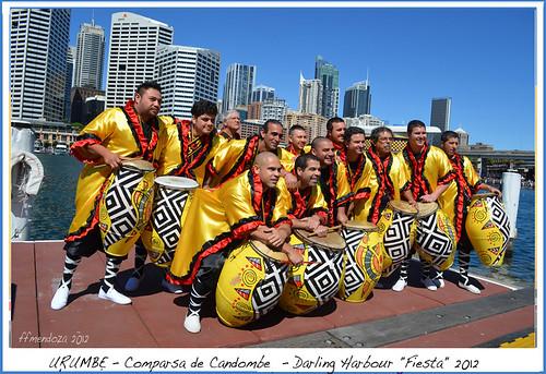 "Urumbe/Comparsa/camdombe,Darling Harbour ""Fiesta"" by FFMENDOZA -AUSTRALIA"