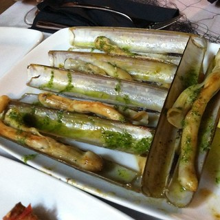razor clams @ Marisco