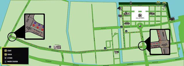 nike we run manila 2012 race map road route