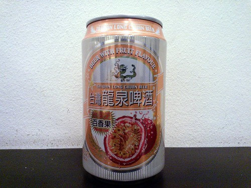Taiwan Long Chuan Passion Fruit Beer