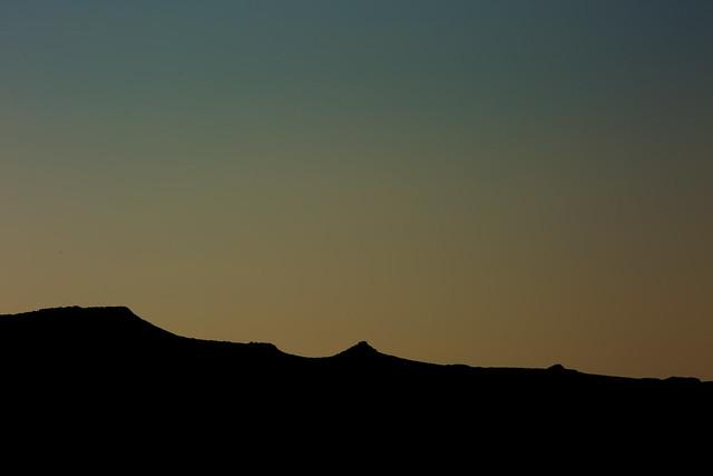 Evening over Crete