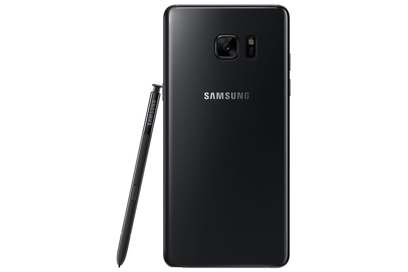 Samsung Galaxy Note 7 - Black Onyx - Back