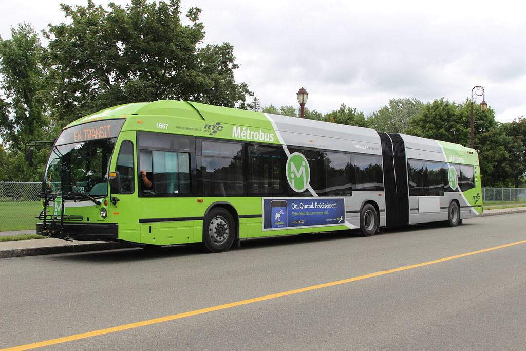 RTC Métrobus Nova Bus LFS Artic HEV 1667