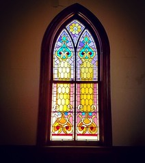 Another beautiful stained glass window. 😍