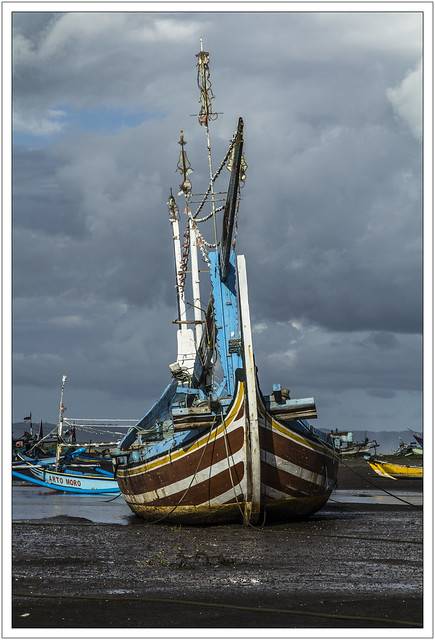 Port de pêche de Grajagan