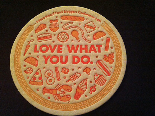 IFBC letterpress coasters from Mailchimp