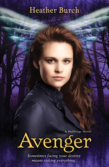 March 19th 2013 by Zondervan (first published February 1st 2013)               Avenger (Halflings #3) by Heather Burch