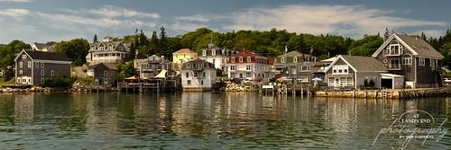 ocean travel houses panorama favorite seascape tourism me landscape harbor fishing village maine portfolio stonington alep
