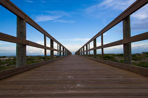 "bridge sea summer sky beach clouds landscape wooden heaven day florida footbridge clear catwalk ""blue ""st sky"" augustine"""