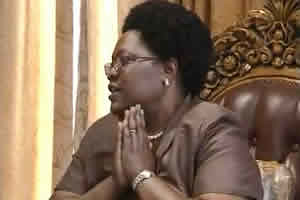 Republic of Zimbabwe Vice President Joice Mujuru. She was acting president while Mugabe attended the NAM Summit in Tehran. by Pan-African News Wire File Photos