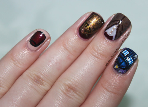 Doctor Who Nail Art (1)