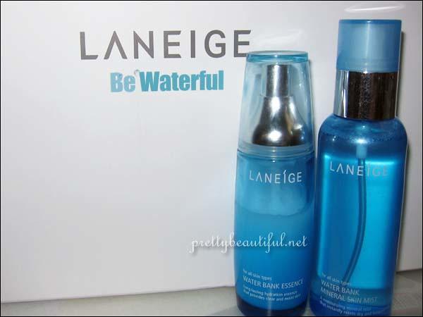 Laneige Waterbank Essence Laneige Mineral Skin Mist