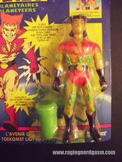 Captain Planet Overseas Captain Pollution by Kenner