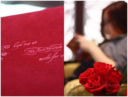 The Rose Veranda - Roses everywhere!