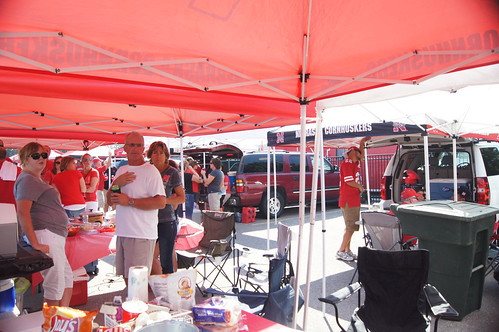 Tailgating on Game Day