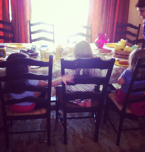 breakfast with the cousins