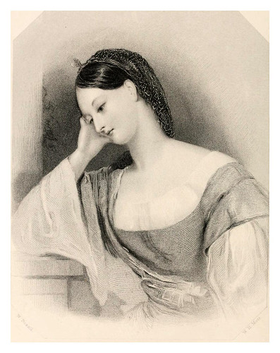 020-Sombra de tristeza-The poets' gallery….1861