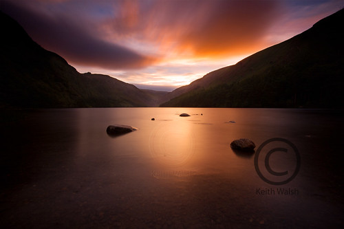 Glendalough Sunset.