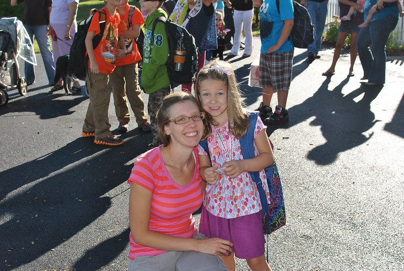 First day of kindergarden!