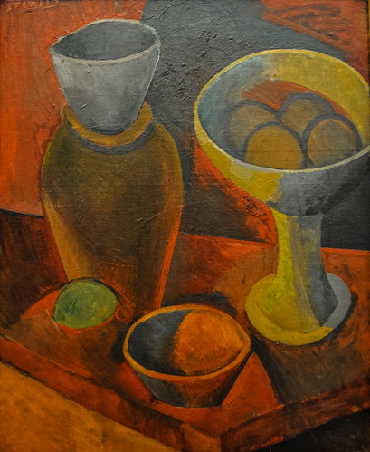 Pablo Picasso - Still Life with Bowls and a Jug, 1908 at the Museum of Art Philadelphia PA